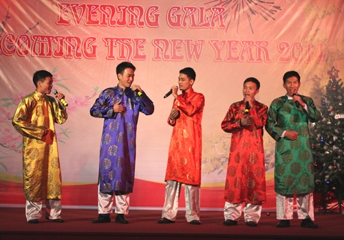 "Singing and dancing ""New prosperous year"""