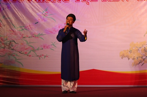 Bac Ninh folk song perfomed by Trung Hieu - lecturer of the PPA