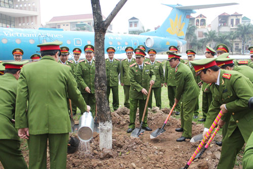 At the beginning of the new year, Tree planting festival has become the popular activities nationwide included at the PPA