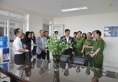 On this occasion, the representatives visited the working room of Korean experts working at the PPA