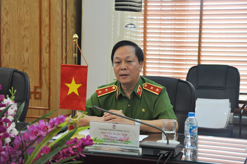 Lieutenant General, Prof. Dr. Nguyen Xuan Yem - President of the PPA thanked the Korean Government, KOICA, Korean experts, the functional units of Vietnam Ministry of Public Security for supporting the PPA in the process of implementing the project
