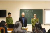 Korean KOICA expert taught elementary Korean language at the PPA