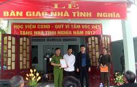 The PPA presented houses of gratitude to people in Quang Nam