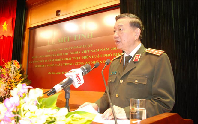 MPS responds Vietnam's Law Day