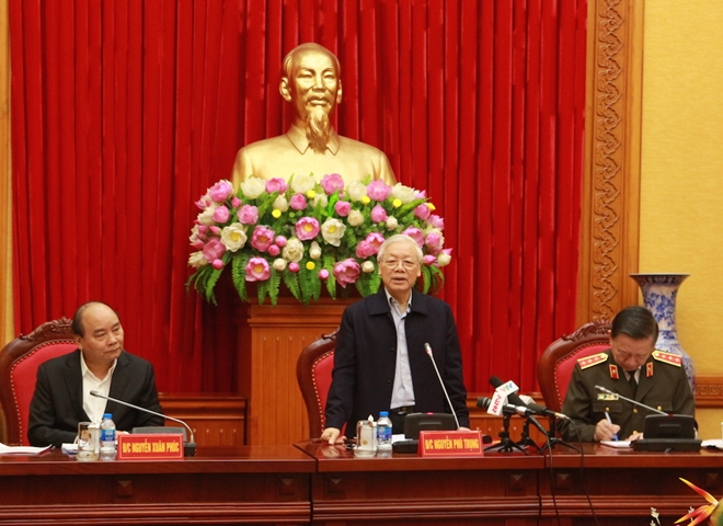 Party, State leaders praise Public Security Forces for great efforts and achievements