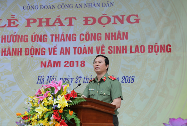 Major General, Prof. Dr. Bui Minh Giam, Deputy Director General of Political General Department stated at the launching ceremony