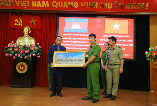 Secretary of State of the Ministry of the Interior of Cambodia visits PPA
