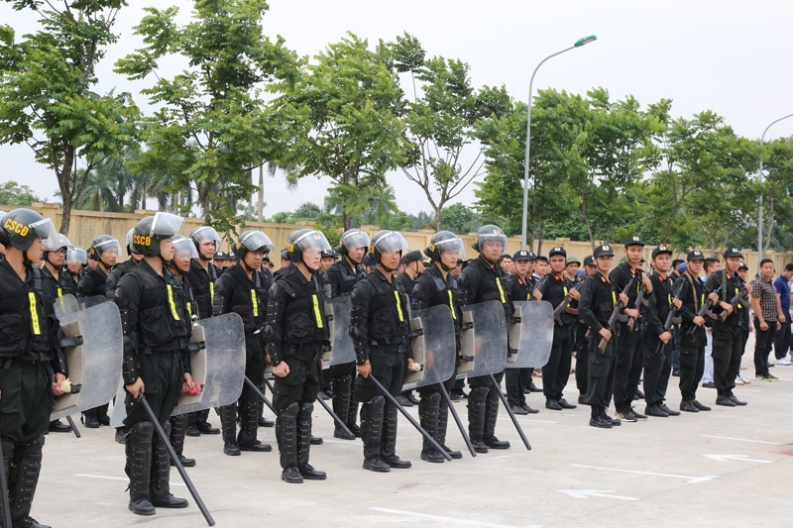300 officers and students of the Reserve Special Force Regiment - the PPA participated in Maneuver