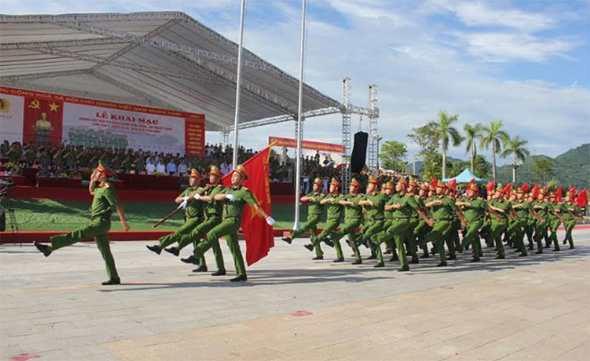 Final round of 5th Public Security Forces' Regulations, Shooting and Martial Arts Competition in Northern region opens