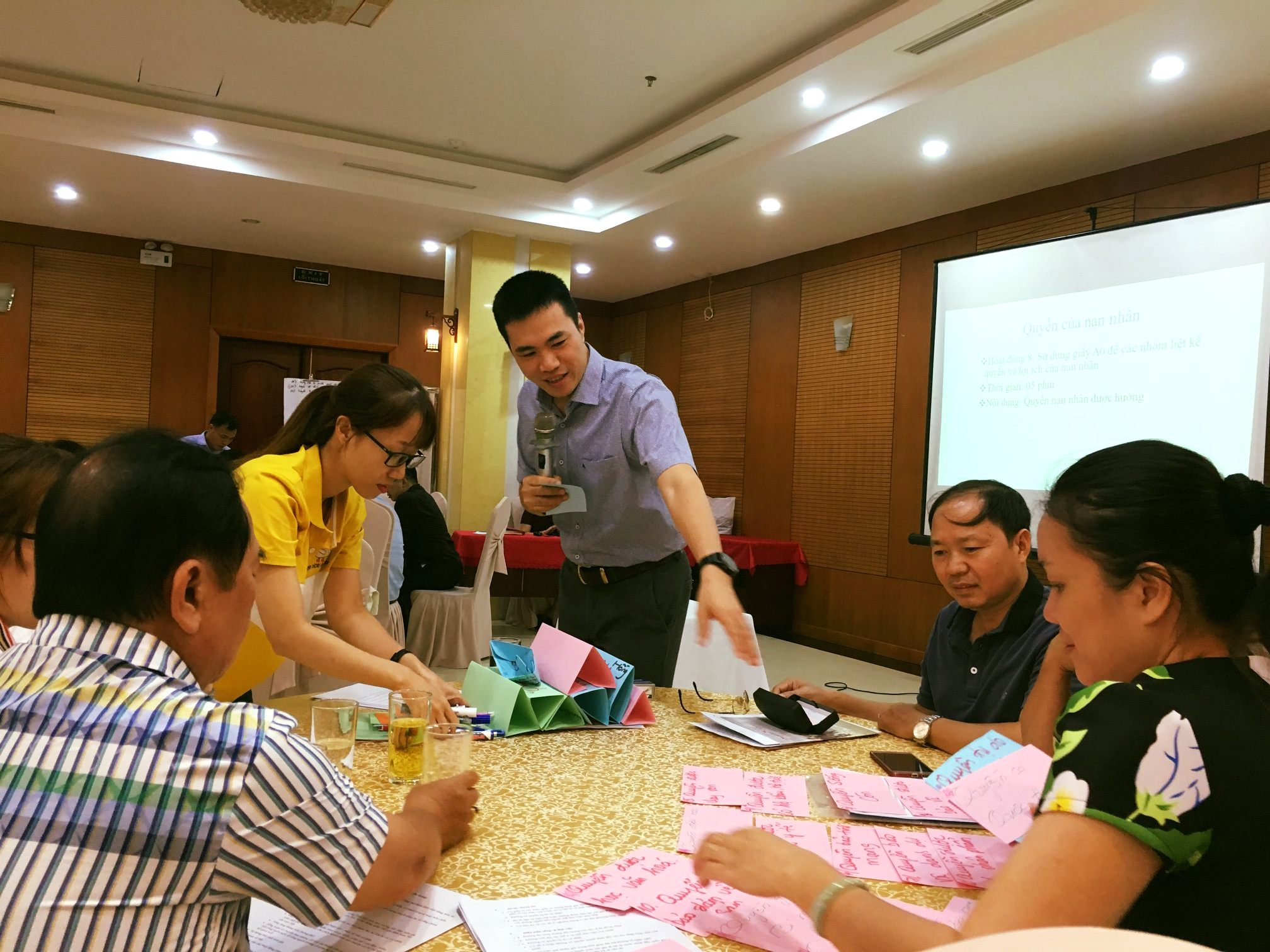 Capacity building training to ensure effective consultation for Vietnamese human trafficking victims